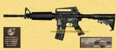 Colt- Full Metal M4 by BOYI (BI-3681M DX-1)